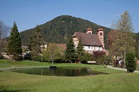 geography / travel, Germany, Baden_Wuerttemberg, Black Forest, Baiersbronn, Klosterreichenbach, Romanesque church, former Benedictine monastery,