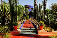 Jardin Majorelle, Marrakech, Morocco