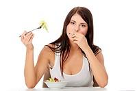 Unhealthy life concept