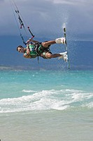 Kitesurfer Mid_air