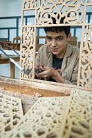 Dar Sanaa, Arts and Crafts school, Tetouan, Rif mountains, Morocco