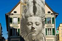 Tower bell, Vevey, Switzerland