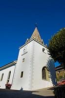 Tower bell, Chardonne, Lavaux vineyards, UNESCO, Switzerland