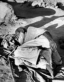 geography / travel, Afghanistan, people, blind old man who lives near the caravan route where he can beg for food, circa 1960,