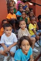 Curaçao, Netherlands Antilles, Dutch, Willemstad, Otrobanda, Kurá Hulanda Museum, anthropological, African slave trade, heritage, history, field trip,...