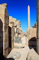 Obelisk, Amun-Re temple, Karnak, Egypt