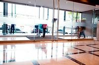 Busy Building Interior