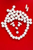 drug image,boy shaped drugs,pain