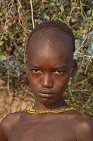 Hamar boy, Omo river valley, Southern Ethiopia