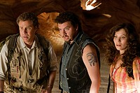 movie, Land of the Lost, USA 2009, director: Brad Silberling, scene with: Will Ferrell, Danny McBride, Anna Friel,