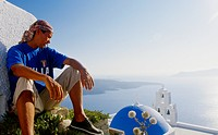 Thira, Santorini, Cyclades, Greece