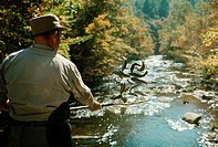 Stocking Deep Creek with Rainbow Trout