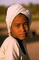 A portrait of a Sudanese child in Dongola.
