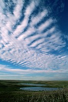 Clouds over Prairie Pothole Region