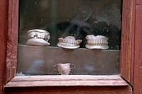 Teeth in Dentist´s Window