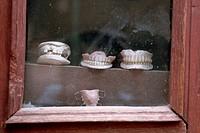 Teeth in Dentist´s Window