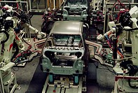 Automated Assembly of Toyota Corollas