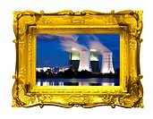 power plant art