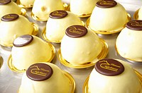 italian light and wickedly sweet lemon flavoured dessert specialty locally knowns as ´delizia al limone´