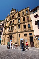 Old Town, San Sebastián, Donostia, Guipuzcoa, Basque Country, Spain