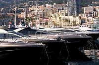 yachts in Monaco Harbour