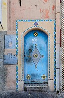 Door in The Ancient Medina, Tiznit, Morocco