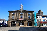Town Hall, Pontefract, West Yorkshire, England, UK