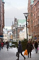 Urban scene at Malmo
