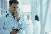 Doctor Using PDA