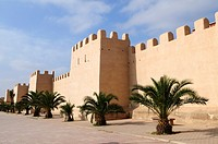 City Walls by Avenue Hassan II, Taroudannt, Morocco