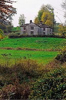 An unused hunting lodge on the property of the Duke of Devon