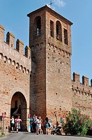 Gradara (Pesaro-Urbino, Italy): the Castello (Castle)