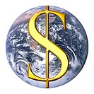 Dollar over earth