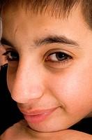 portrait of a handsome pakistan teenage boy