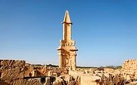 Mausoleum of Bes, Sabratha, Libya