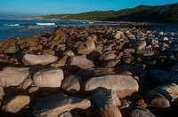 Rocks on beach, Port Saint Francis, Eastern Cape Province, South Africa