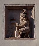 Ehemaliges Mnzhaus 1620_28, Mnzschlger_Relief