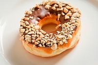 hazelnuts Doughnut