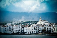 View of the Bay and the town of Cadaqués in Cap de Creus, Girona, Spain