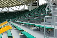 seats in sport stadium