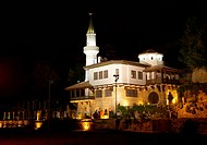 Balchik, the palace at night