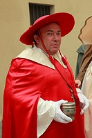 Italy, Piedmont, Asti, Palio, festival, people, historical costumes,