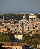 Italy, Lazio, Rome, skyline, general view.