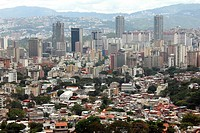 Caracas city, view from El Avila National Park, Caracas, Venezuela