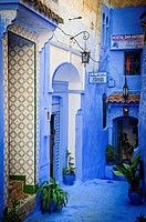 Gateway to the board, Chefchaouen, Morocco