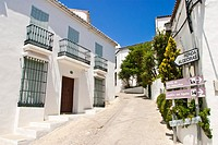 The 'white town' of Gaucin, Andalucia, Spain