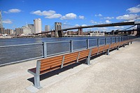 Brooklyn Bridge Park, Pier 1, Brooklyn, New York City, USA