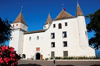 Old castle in Nyon, Switzerland