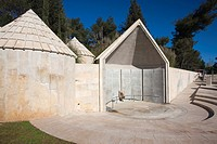 Israel, Jerusalem, Mt  Herzl, Memorial to Ethiopian Jews who perished on their way to Israel in 1984