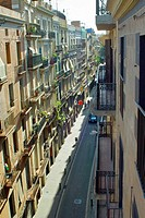 Street in Barcelona, Spain